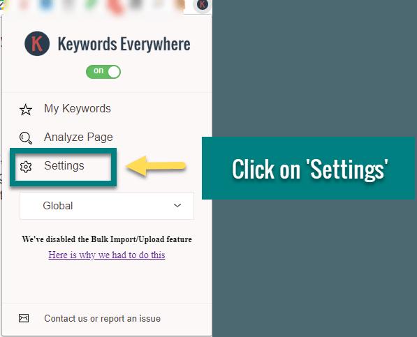 how to do keyword research keywords everywhere4