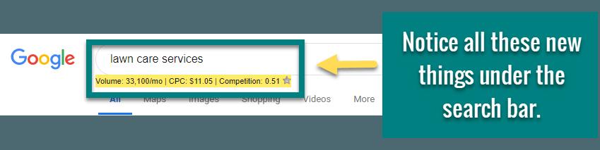 how to do keyword research keywords everywhere6