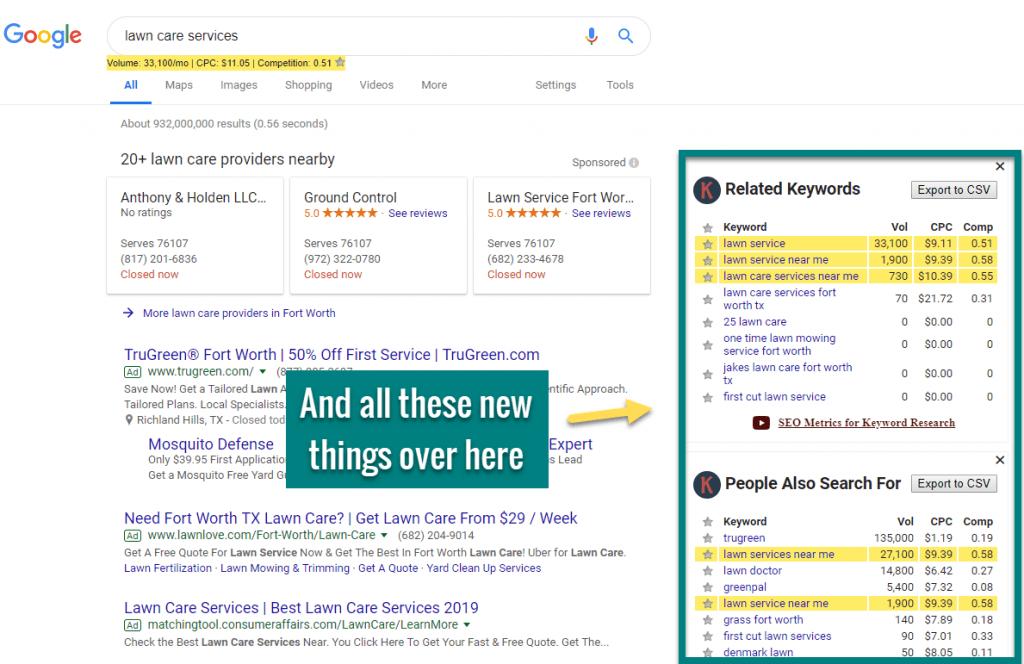how to do keyword research keywords everywhere7b